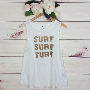 Roxy | Surf Surf Surf Tank Top M